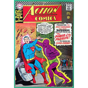 Action Comics (1938) #340 VG/FN (5.0) Superman 1st app Parasite