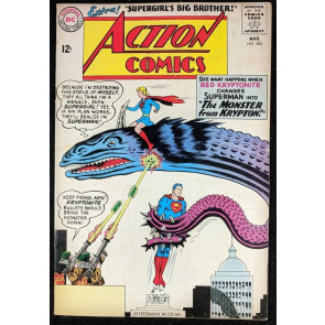 Action Comics (1938) #303 FN (6.0) Superman Supergirl cover