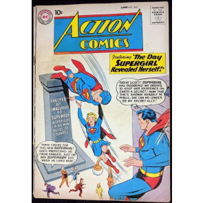 Action Comics (1938) #265 GD (2.0) Superman 4th Supergirl cover