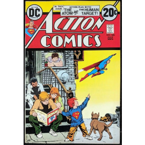 Action Comics (1938) #425 VF/NM (9.0) classic Neal Adams Atom back up story