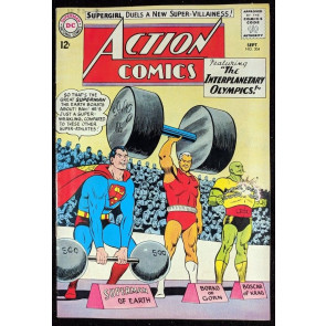 Action Comics (1938) #304 VF- (7.5) origin & 1st app Black Flame Superman