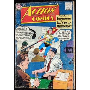 Action Comics (1938) #250 Superman FR/GD (1.5)
