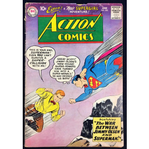 Action Comics (1938) #253 GD (2.0) Superman 2nd app Supergirl