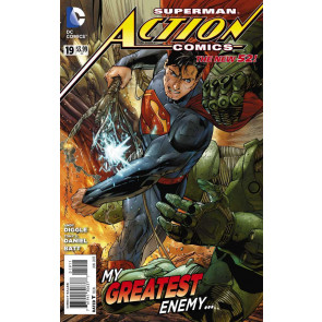 Action Comics (2011) #19 VF+ The New 52!