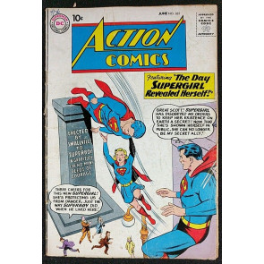 Action Comics (1938) #265 GD (2.0) featuring Superman 4th Supergirl cover