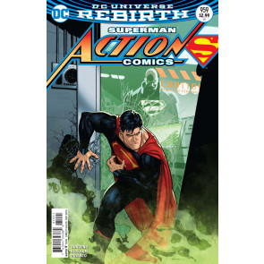 Action Comics (2016) #959 VF/NM Variant Cover Superman DC Universe Rebirth