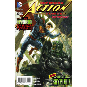 Action Comics (2011) #20 VF- The New 52!