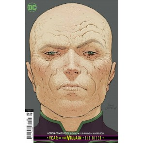 Action Comics (2016) #1013 NM (9.4) Frank Quitely variant cover Superman