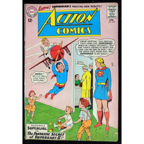 Action Comics (1938) #299 GD/VG (3.0) Supergirl cover Superman