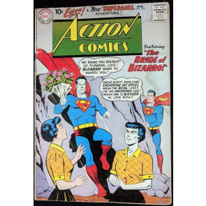 Action Comics (1938) #255 GD+ (2.5) Superman Lois Lane bride of Bizarro