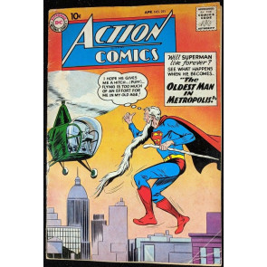 Action Comics (1938) #251 VG- (3.5) Superman
