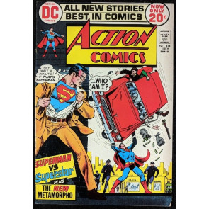Action Comics (1938) #414 FN+ (6.5) Metamorpho back up Superman