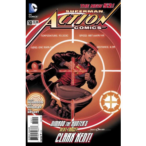 ACTION COMICS #10 VF+ THE NEW 52! SUPERMAN