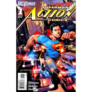 "ACTION COMICS (2011) #'s 1-8 COMPLETE 1ST PRINT ""SUPERMAN AND THE MEN OF STEEL"""