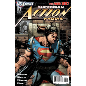 ACTION COMICS (2011) #'s 1-8 COMPLETE 1ST PRINT