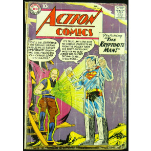 ACTION COMICS #249 GD- KRYPTONITE MAN