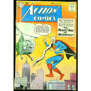 ACTION COMICS #251 GD/VG