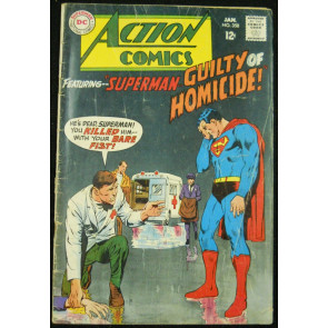 ACTION COMICS #358 GD/VG