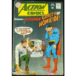 ACTION COMICS #358 VG-