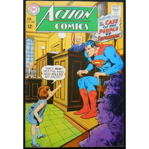 ACTION COMICS #359 NEAL ADAMS COVER