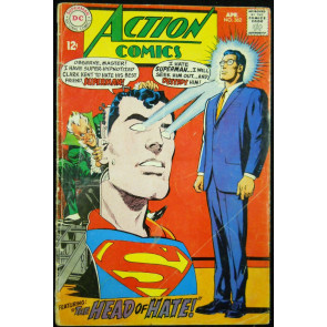ACTION COMICS #362 GD/VG