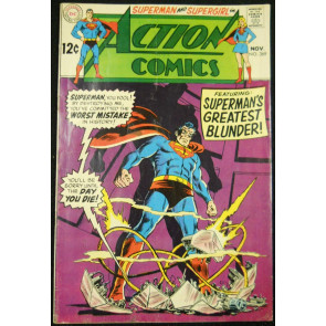 ACTION COMICS #369 VG-