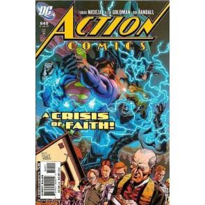 """ACTION COMICS #849 VF+ """"REDEMPTION """" PART 2"""