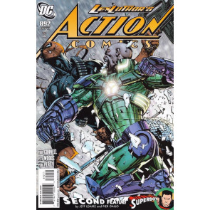 ACTION COMICS #892 VF/NM DEATHSTROKE LUTHER BATTLE COVER