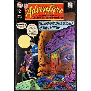 Adventure Comics (1938) #380 FN+ (6.5) Superboy and Legion of Super-Heroes