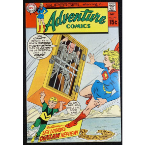 Adventure Comics (1938) #387 VF- (7.5) Starring Supergirl