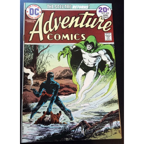 Adventure Comics (1938) #432 FN (6.0) featuring The Spectre Jim Aparo art