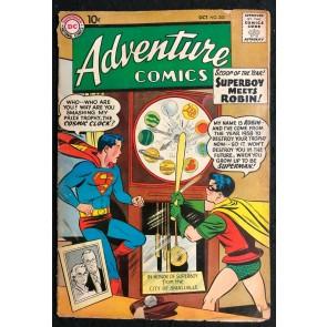Adventure Comics (1938) #253 GD (2.0) Superboy meets Robin
