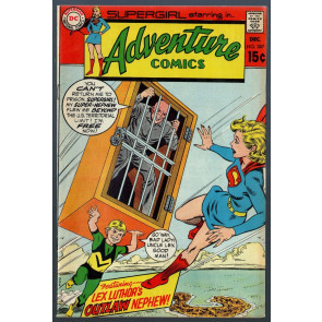 Adventure Comics (1938) #387 FN/VF (7.0) featuring Supergirl vs Lex Luthor