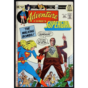 Adventure Comics (1938) #413 VF+ (8.5) Starring Supergirl 48 Pages