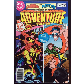 Adventure Comics (1938) #467 VF (8.0) featuring Plastic Man & Starman by Ditko
