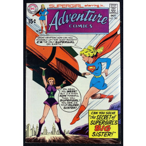Adventure Comics (1938) #385 FN/VF (7.0) Starring Supergirl