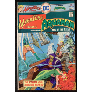 Adventure Comics (1938) #441 FN+ (6.5) Starring Aquaman Mera Cover