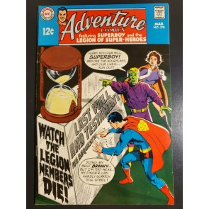 ADVENTURE COMICS #378 (1969) VF/NM HIGH GRADE SUPERBOY/LEGION NEAL ADAMS COVER |