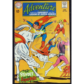 Adventure Comics (1938) #364 FN/VF (7.0) Superboy & Legion of Super-Heroes