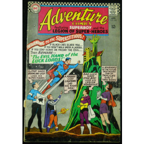 ADVENTURE COMICS #343 GD/VG