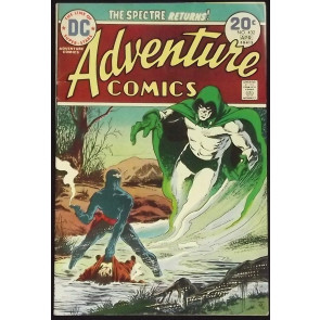 ADVENTURE COMICS #432 FN+ SPECTRE APPEARANCE