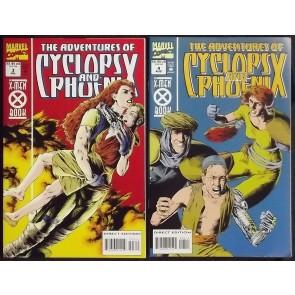 ADVENTURES OF CYCLOPS AND PHOENIX (1996) #'s 1-4