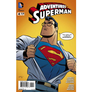 ADVENTURES OF SUPERMAN (2013) #4 VF/NM