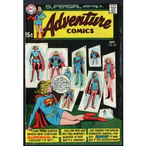 Adventure Comics (1938) #397 FN- (5.5) featuring Supergirl 1st new costume