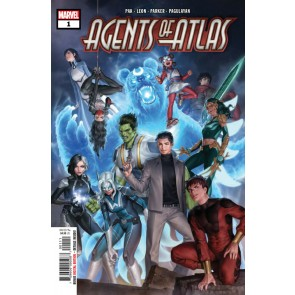 Agents of Atlas (2019) #1 of 5 VF/NM Jung-Geun Yoon Cover