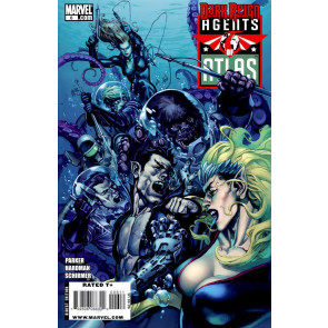 AGENTS OF ATLAS #6 NM DARK REIGN TIE-IN