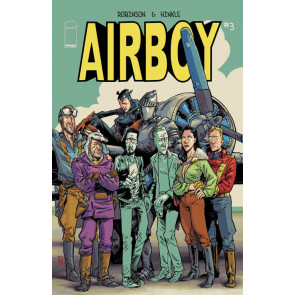 AIRBOY (2015) #3 VF/NM IMAGE COMICS