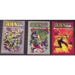 ALIEN LEGION: ON THE EDGE (1991) #'s 1, 2, 3 COMPLETE NM EPIC SET