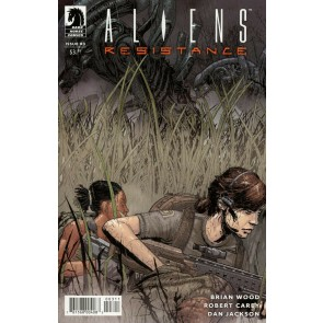 Aliens: Resistance (2019) #3 VF/NM Tristan Jones Variant Cover Brian Wood