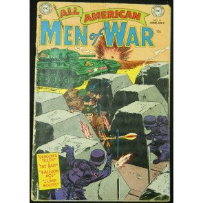 ALL-AMERICAN MEN OF WAR  #11 GD